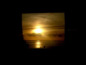Framed sunset A