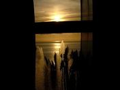 Framed sunset B