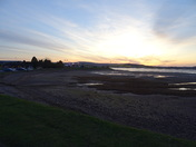 After sunset over Exmouth Estuary