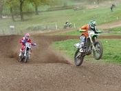 MOTOCROSS BY HALSTEAD & DISTRICT MCC AT LITTLE LOVENEY HALL, WAKES COLNE, CO6 2B