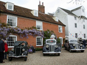 Classic cars at Kersey Mill