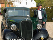 80-year-old Ford at Kersey Mill