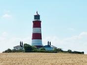 Norfolk Landmarks. Happisburgh Lighthouse
