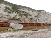 Norfolk Landmarks. Hunstanton Cliffs