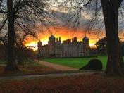 Photo Challenge - Norfolk Landmarks - Blickling Hall at Sunset