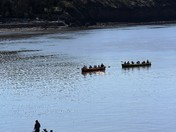 "Clevedon Gig club ""Row Home""."