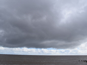 Changeable skies at Lowestoft