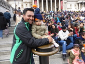 Vaisakhi Celebrations in Trafalgar Square London