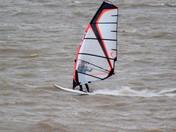 Windsurfer off Felixstowe Dip