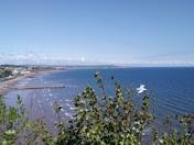 Viwew of the beach atr Dawlish