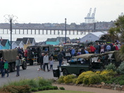 Historic Vehicles on the Prom at Felixstowe