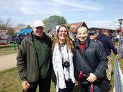 3 iwitters do Suffolk young farmers country fair.