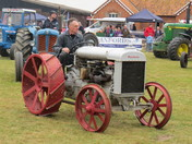 Tractors at suffolk young farmers fair.