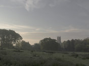 Dawn over St Mary's near Harleston