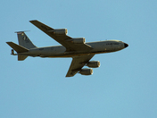 4 USAF KC 135 Aerial tankers overfly Harleston