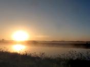 Dawn along ten mile bank