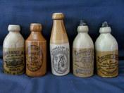 Retro Ginger Beer Bottles