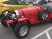 Retro Bugatti