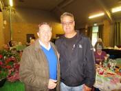 Liam Fox Visits Claverham Market.
