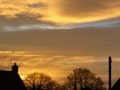 SKYLINE. Sunset