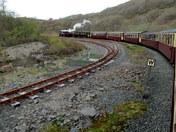 Train Journey to the Skyline