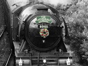 The Flying Scotsman Steam Engine passes through the region on its tour