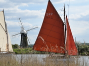 Spring sail on the Thurne