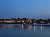 Skyline - Over Wells harbour
