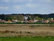 SKYLINE. Cley Mill From Blakeney