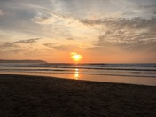 Sunsets in Woolacombe