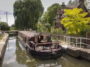 Canal walk in Hertford.