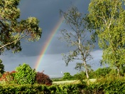 Rainbow in Woolpit .