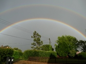 Double Rainbow again tonight.