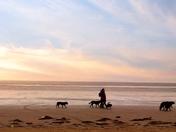 walk along our stunning beach