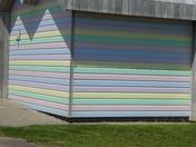Hut in pastel