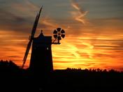 Silhoette: Windmill