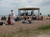 Aldeburgh in the sun