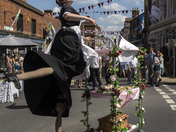 Bridie the Kitchen lady stars in the heat of Harleston Street Market