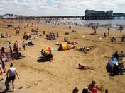 Busy Beach.