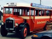TE 7870 vintage bus