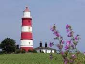 Iconic Happisburgh lighthouse