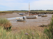 Low tide at Morston Quay