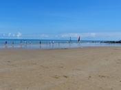 SUMMERTIME. Sheringham Beach