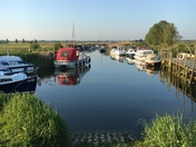 Hardley Staithe and Mill