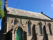 Escot church at fairmile