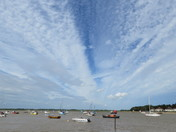 Big sky at Felixstowe Ferry