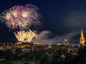 Lord Mayor's Celebration Fireworks - 8 July 2017