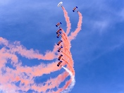 The Falcons Parachute Team