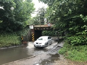 More flooding at Needham Lake Railway Bridge