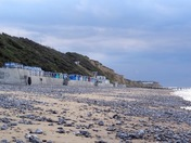 Evening on Cromer beach